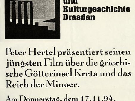 Vortragsplakat Dresden