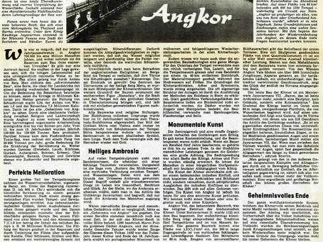 Angkor - ein Urwald gemeißelter Steine
