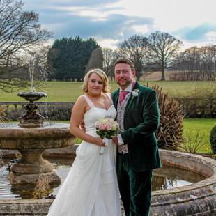 Wedding - Bride and Groom, Essex.