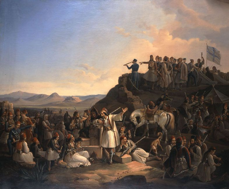 Ο στρατός του οπλαρχηγού Κολοκοτρώνη, Θεόδωρος Βυζάκης, 1855.