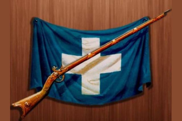 ελληνική επανάσταση 1821 σημαία