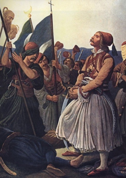 Ο Γκούρας καταθραύει τους εχθρούς στο Μαραθώνα (Peter von Hess).