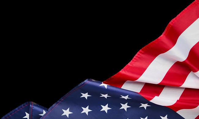 American-flag-premium-on-transparent-bac