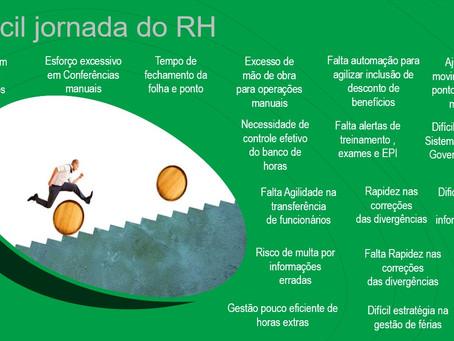 A difícil Jornada do RH