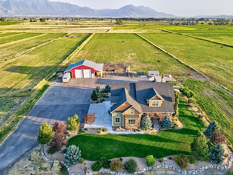 Aerial Real Estate Photography in Utah