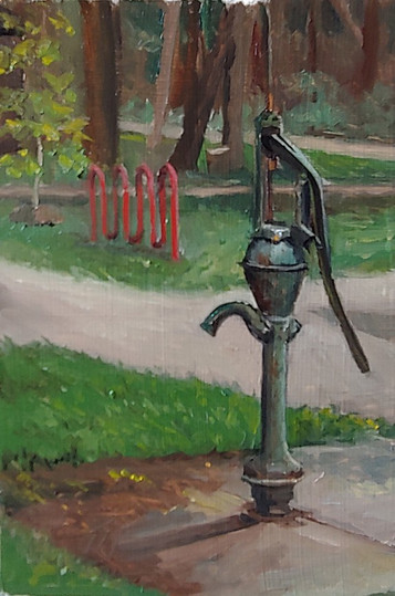 7/22/2021 - Water Pump at Wright Woods