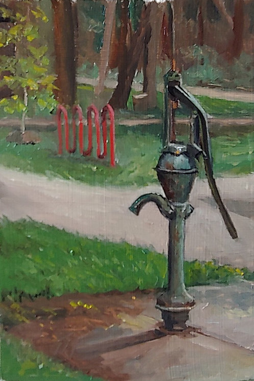Water Pump at Wright Woods