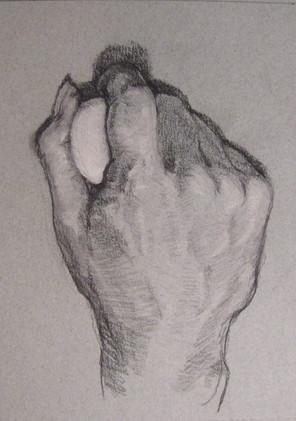 Hand and Egg