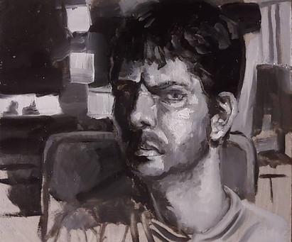 Sleepless Night Self Portrait