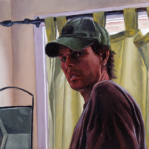 Study for Self Portrait at Window