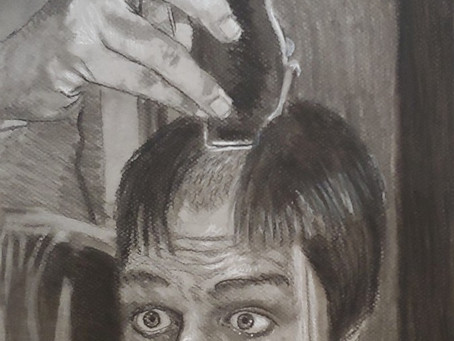 A hair cut in the time of Covid