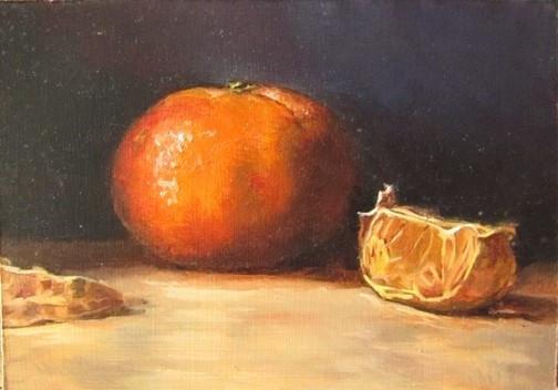 Clementines in Sfumato