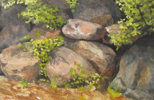 Fay Lake Rocks