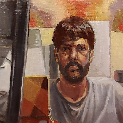 Square Self Portrait