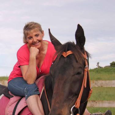 Beauty, happy horse happy owner!