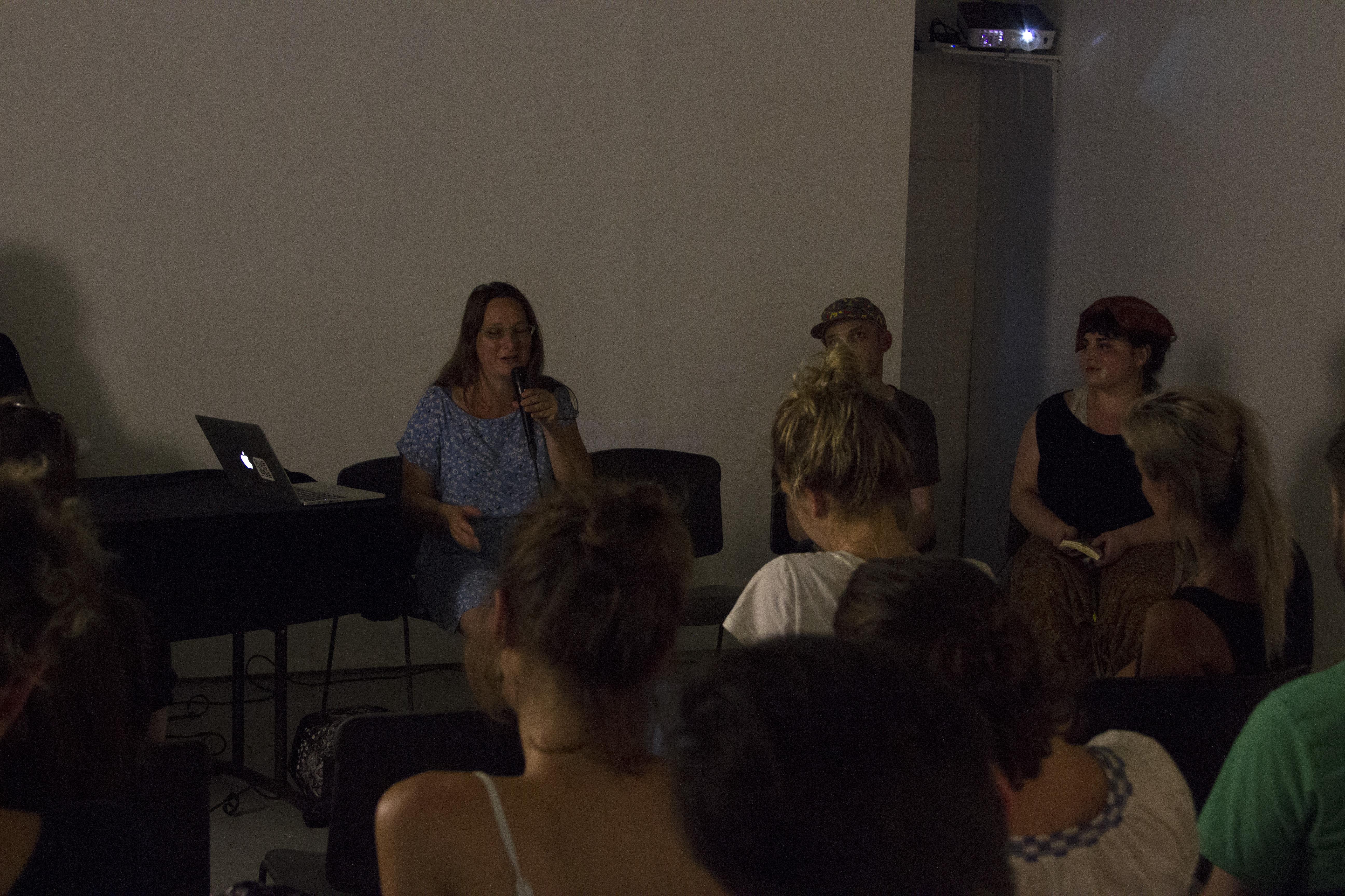 Artist Talk + Flux Thursday