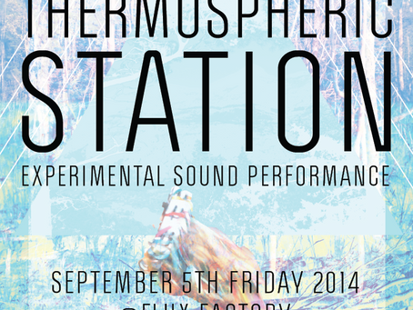 The event, Thermospheric Station, successfully presented at Flux Factory in New York City, USA