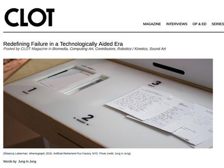 Redefining Failure in a Technologically Driven Era - CLOT Magazine