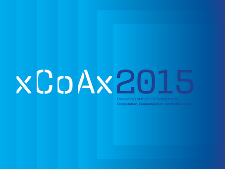 xCoAx 2015 Proceedings is available now