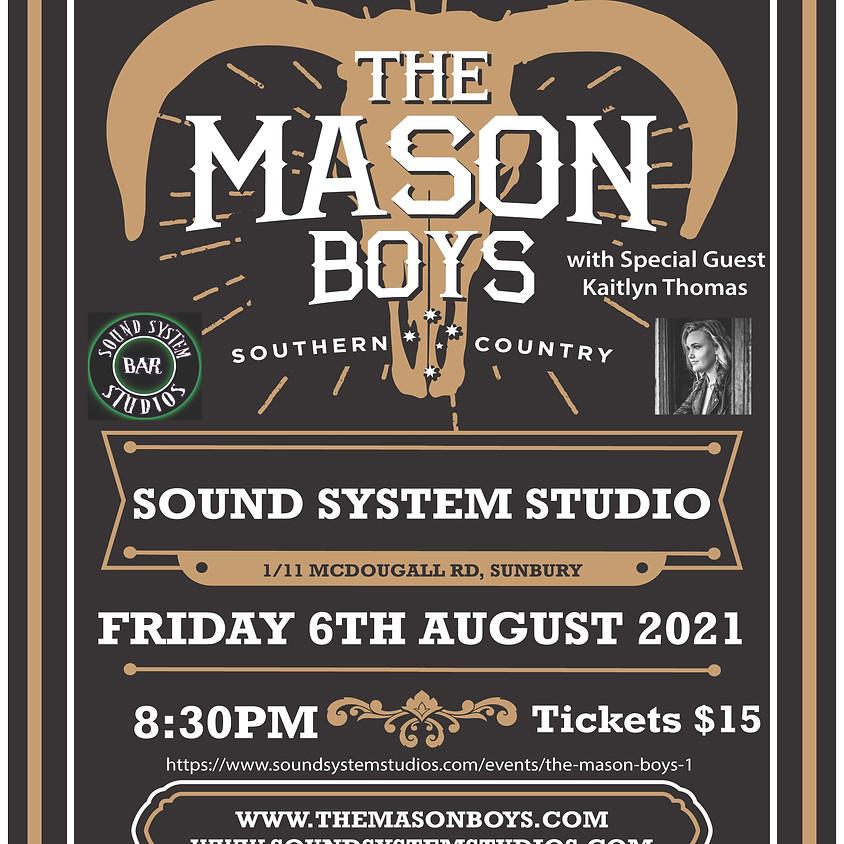 The Mason Boys (Rescheduled!)