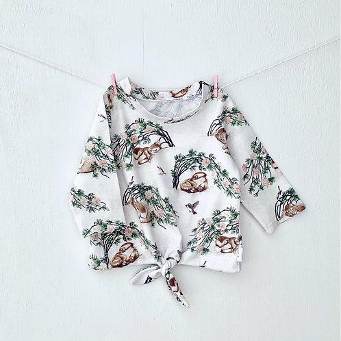Briar Bunny Tie Front Top