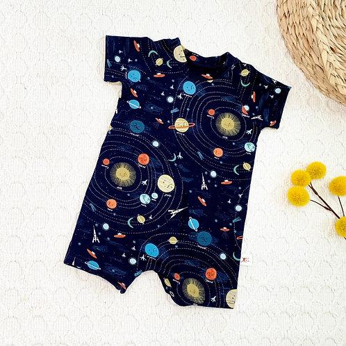 Galaxy Jersey Knit Romper