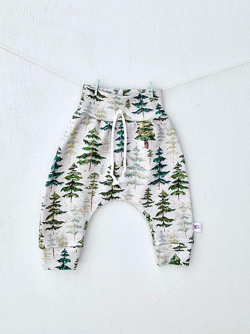 Organic Woodland Trees Pants