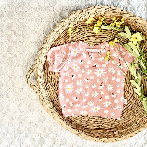 Daisy Toss in Blush, Pink Floral Pullover