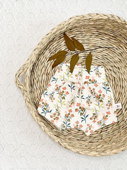Wildflower Meadow Organic Baby Shorts