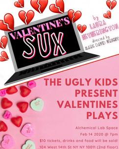 Valentine's Sux Poster
