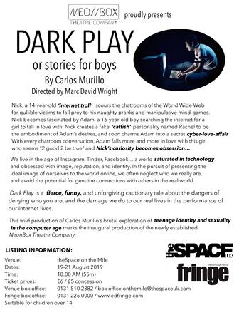Dark Play Fringe Press Release