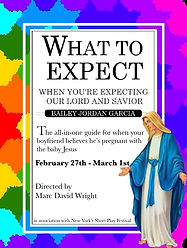 """""""What to Expect When You're Expecting our Lord and Savior"""" Poster"""