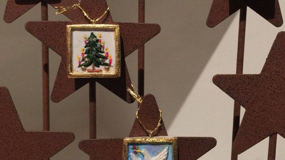 1 inch holiday ornaments