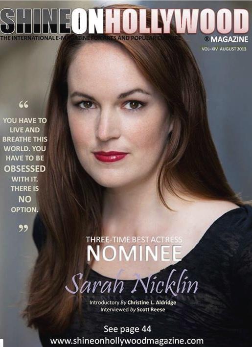Actress Sarah Nicklin