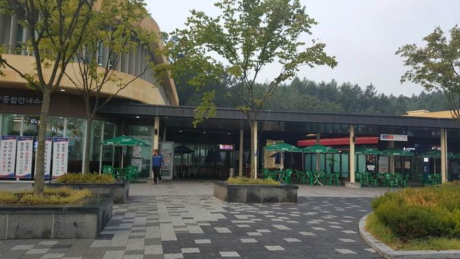 정선카지노 컨벤션호텔 유리공사
