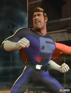 3D Universe Captain Charisma