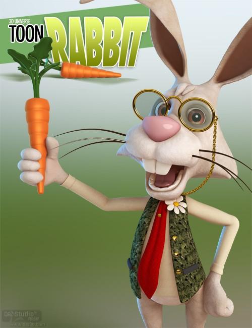3D Universe Toon Rabbit