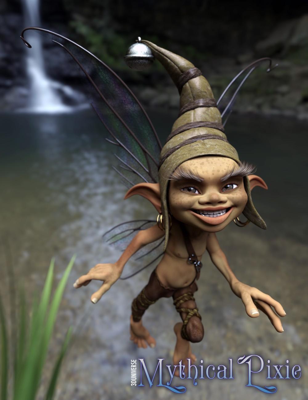 3D Universe Mythical Pixie