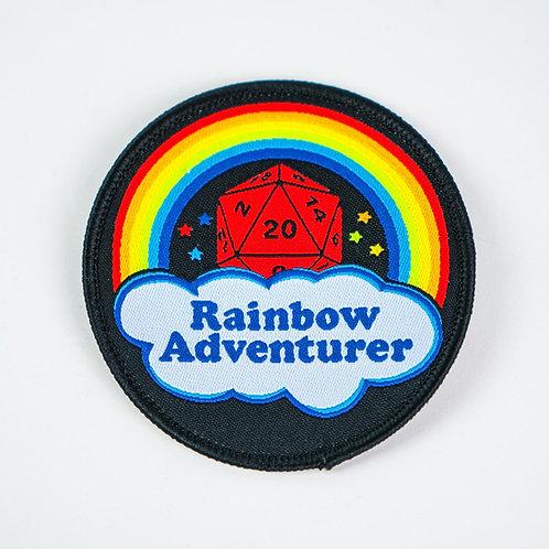 Rainbow Adventurer iron-on patch