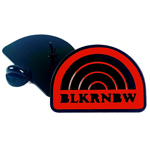 BLKRNBW Logo Pin