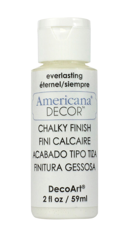 Americana® Decor™ Chalky Finish Paint, 2oz.  - Everlasting - 2 oz