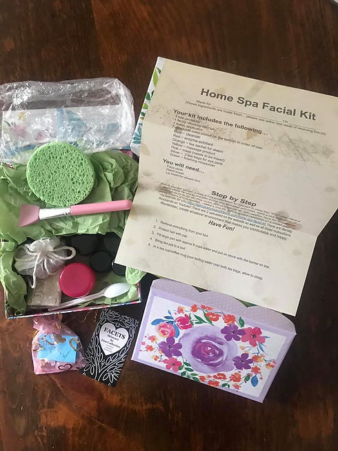 home spa facial kit with letter.jpg