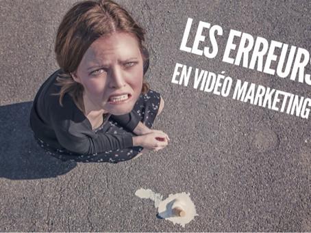 Vidéo Marketing - Les erreurs à ne pas commettre ! ⛔️