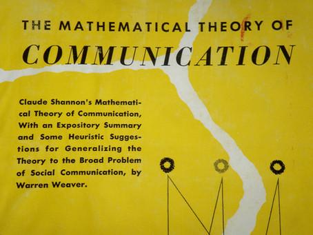 The Mathematical Theory of Communication ! 😲