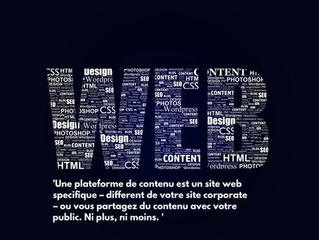 Créer votre propre plateforme de contenu & data !
