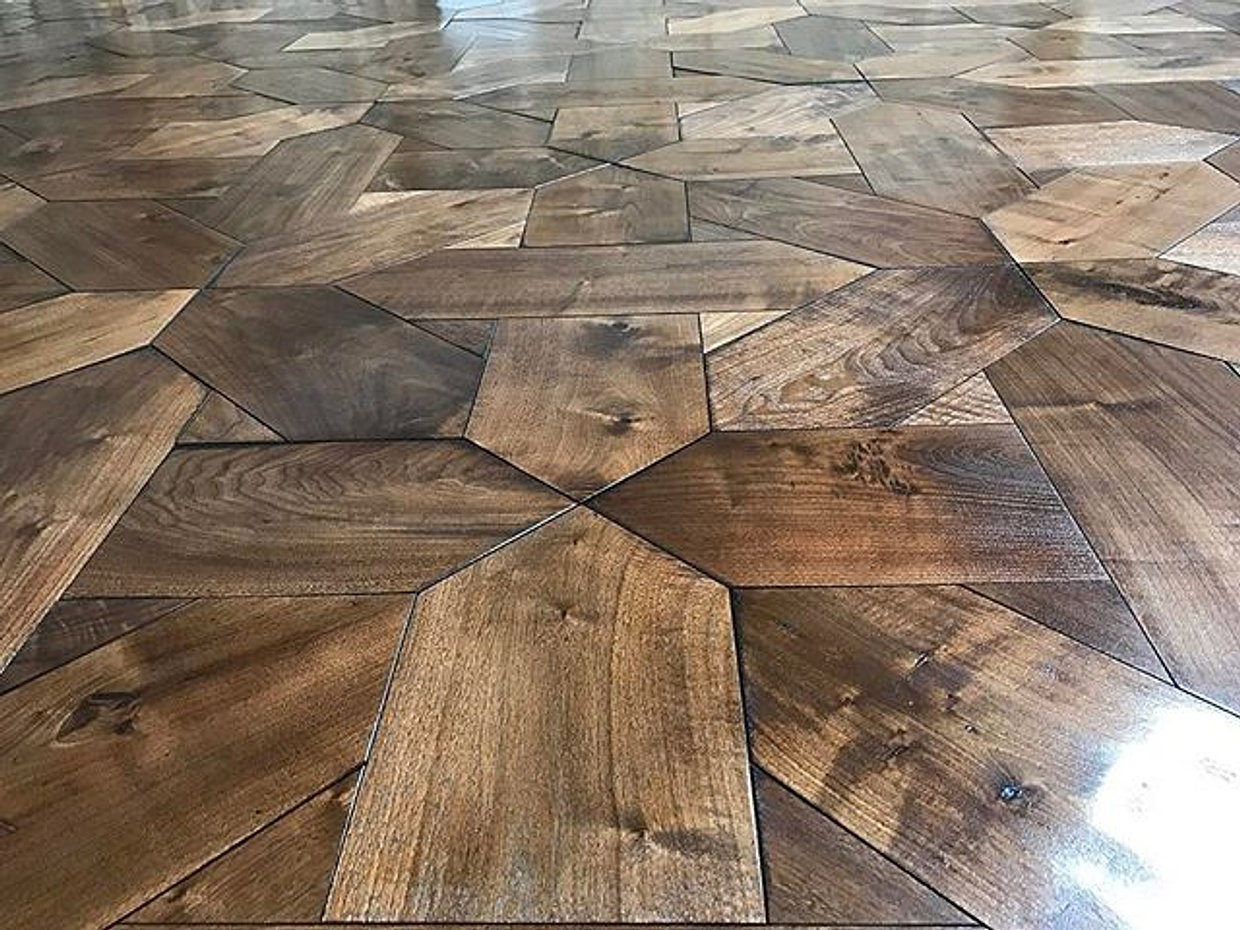 Good Youu0027ve Seen This Richard Marshall Fine Flooring Creation From Its Early  Stages To Its