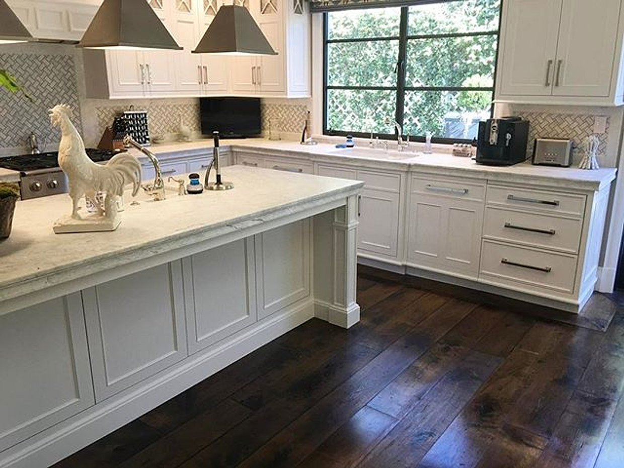 A Good Kitchen Floor For All To Adore! Loving How U2022Richard Marshall Fine  Flooring