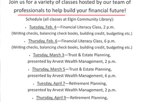 Financial Literacy and all things money