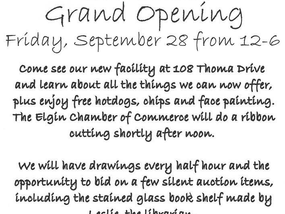 Grand Opening of New Library