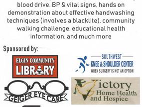 Health Literacy Fair and Blood Drive
